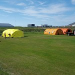 Von á um 400 þátttakendum á landsmót í Grindavík