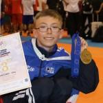 Ágúst með brons á Evrópumóti unglinga í taekwondo