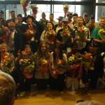 Special Olympicsfarar fengu flottar móttökur í Leifsstöð