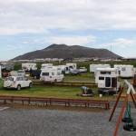 35% aukning á tjaldsvæðinu í Grindavík í sumar