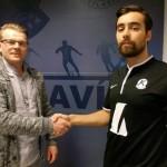 Jónas Guðni og Axel Kári hafa skrifað undir hjá Keflavík