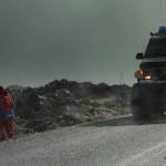 Björgunarsveitir leita á Strandarheiði