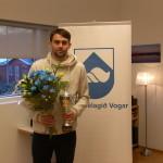 Emil Barja er íþróttamaður Voga 2015