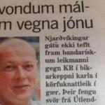 """Teitur Örlygsson: """"Er ekki stoned á bekknum!"""""""