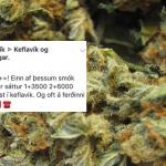 Lögreglan leitar að Herra Keflavík – Auglýsti fíkniefni til sölu á rangri Facebook-síðu