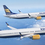 Eldingu sló niður í flugvél Icelandair