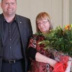 Katla Bjarnadóttir hlaut Hvatningarverðlaun fræðsluráðs Reykjanesbæjar 2016