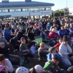 Ísland – Austurríki á risaskjá í skrúðgarðinum – Flott veðurspá fyrir daginn