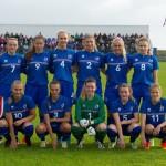 Þrjár Suðurnesjastúlkur léku með U19 landsliðinu gegn Póllandi