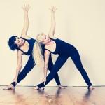 Ballet og yoga í Pop Up portinu við Svarta pakkhúsið