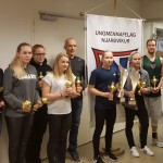 Sunneva Dögg og Ægir Már íþróttafólk UMFN 2016