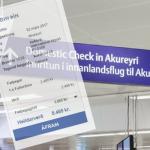 Töluvert ódýrara fyrir túrista að fljúga til Akureyrar frá Keflavík en Reykjavík
