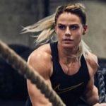 Sara í fanta formi í myndatöku fyrir Nike – Sjáðu myndirnar!