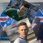 Ingvar og Arnór Ingvi í FIFA 18 – Sjáðu hvernig þeir líta út!