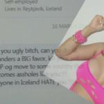 """Þekktur athafnamaður sendi gróf skilaboð: """"Do all Icelanders a BIG favor and kill your self"""""""