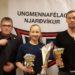 Sunneva og Logi íþróttafólk UMFN 2015